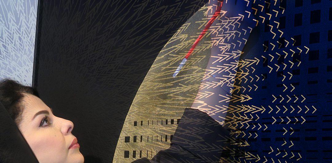 Две инсталляции саудовских художниц Лулуа Аль-Хамуд и Дании Аль-Салех из постоянной экспозиции Центра мировой культуры имени короля Абдул-Азиза
