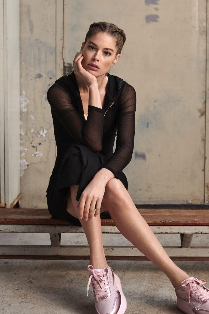f3ece2ab6868a Голландский бренд нижнего белья, спортивной и домашней одежды Hunkemöller и  топ-модель Даутцен Крез создали коллекцию спортивной одежды, посвященную  всем ...